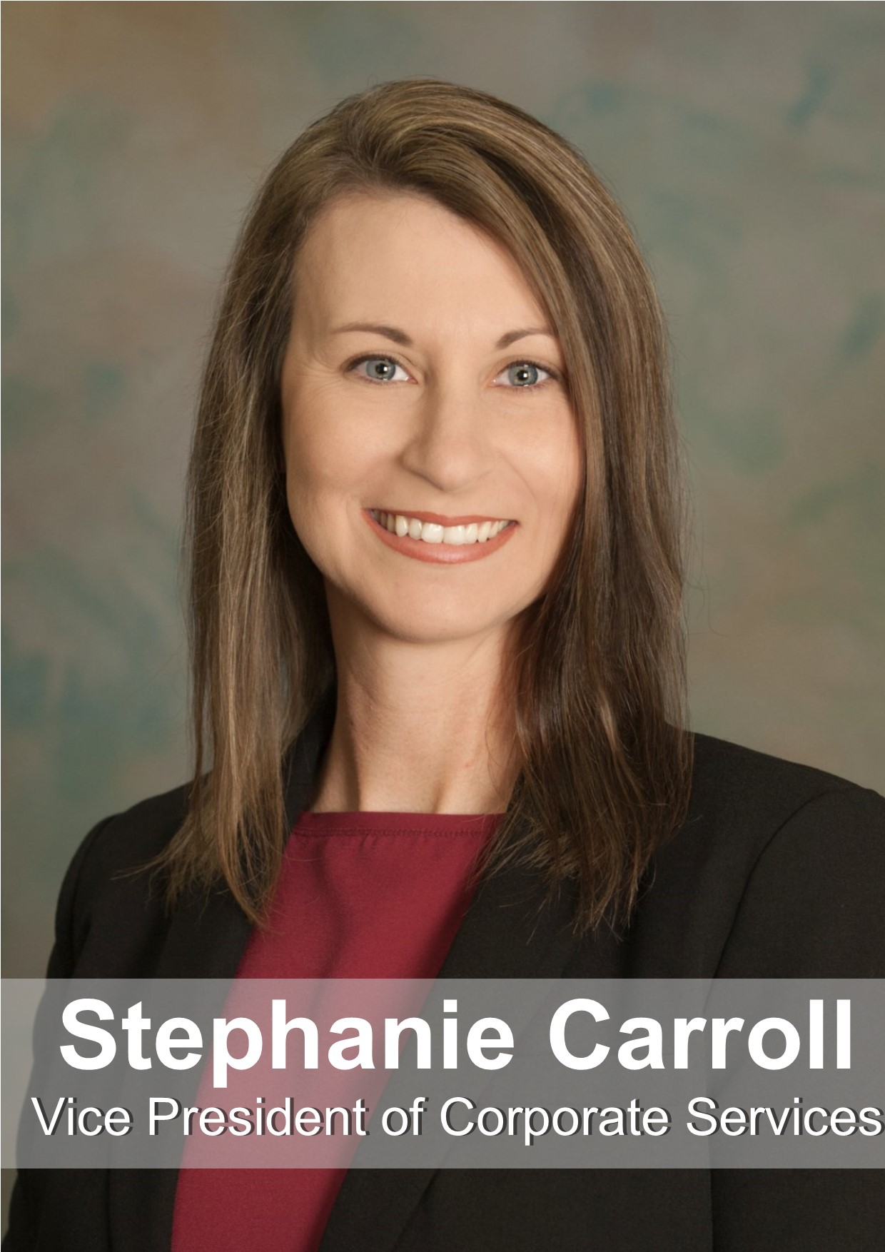 Stephanie Carroll Manager of Corporate Services